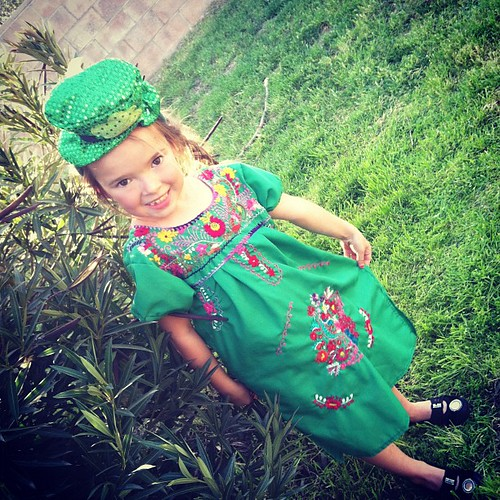 Leprechaun outfit #2 via Mexico