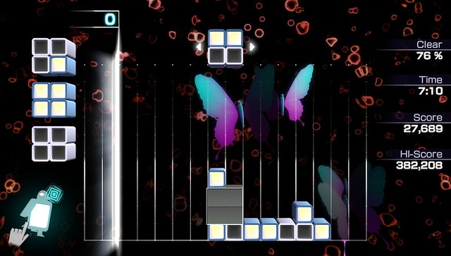 "Lumines ES: ""Moistly"""