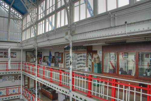 The drill hall and museum