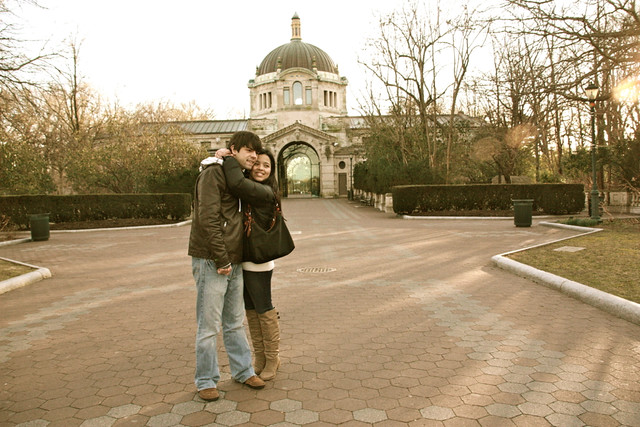 Will y Yo en Bronx Zoo