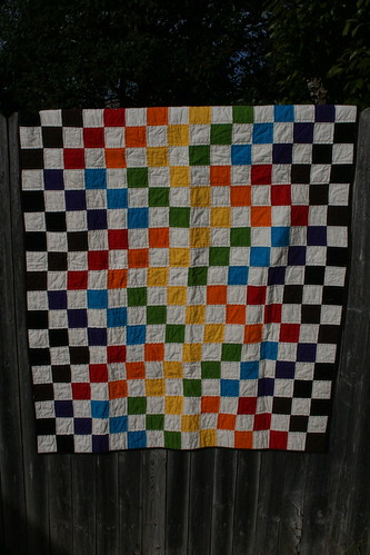 Scott's wedding quilt