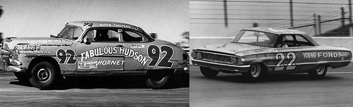Herb Thomas' #92 Fabulous Hudson Hornet_Fireball Roberts #22