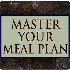 master your meal plan