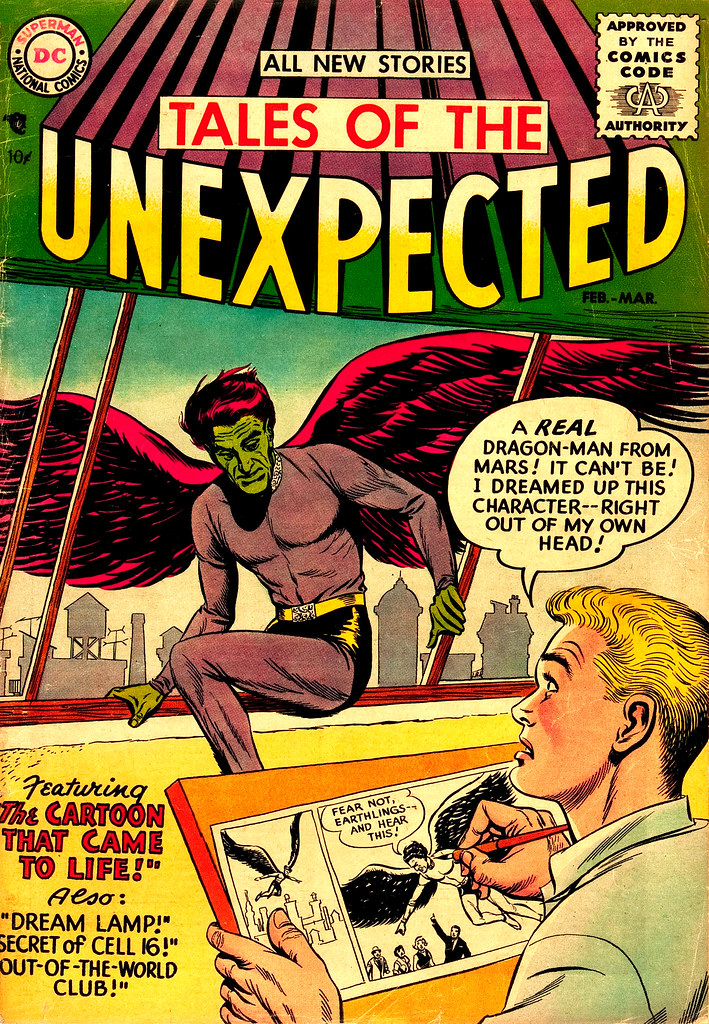 Tales of the Unexpected #1 (DC, 1956) Will El cover