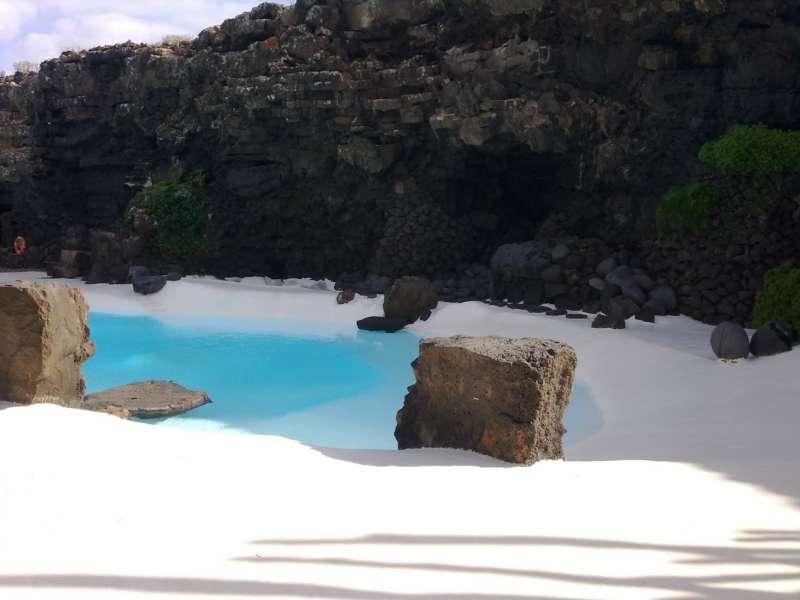 Piscina Jardines Jameos del Agua en Lanzarote 9