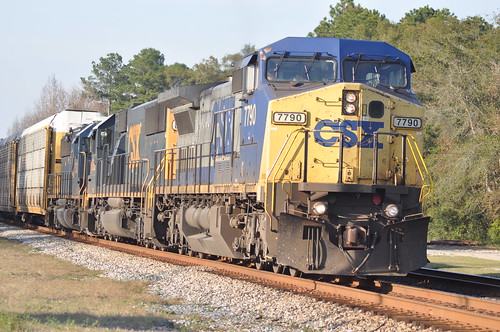 CSX FOLKSTON, GA. 7790