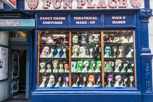Joke Shop On South King Street (Dublin) by infomatique