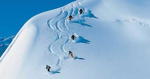 skiing in st. anton