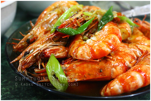 Sumptuous Sundays: Sweet and Spicy Shrimp