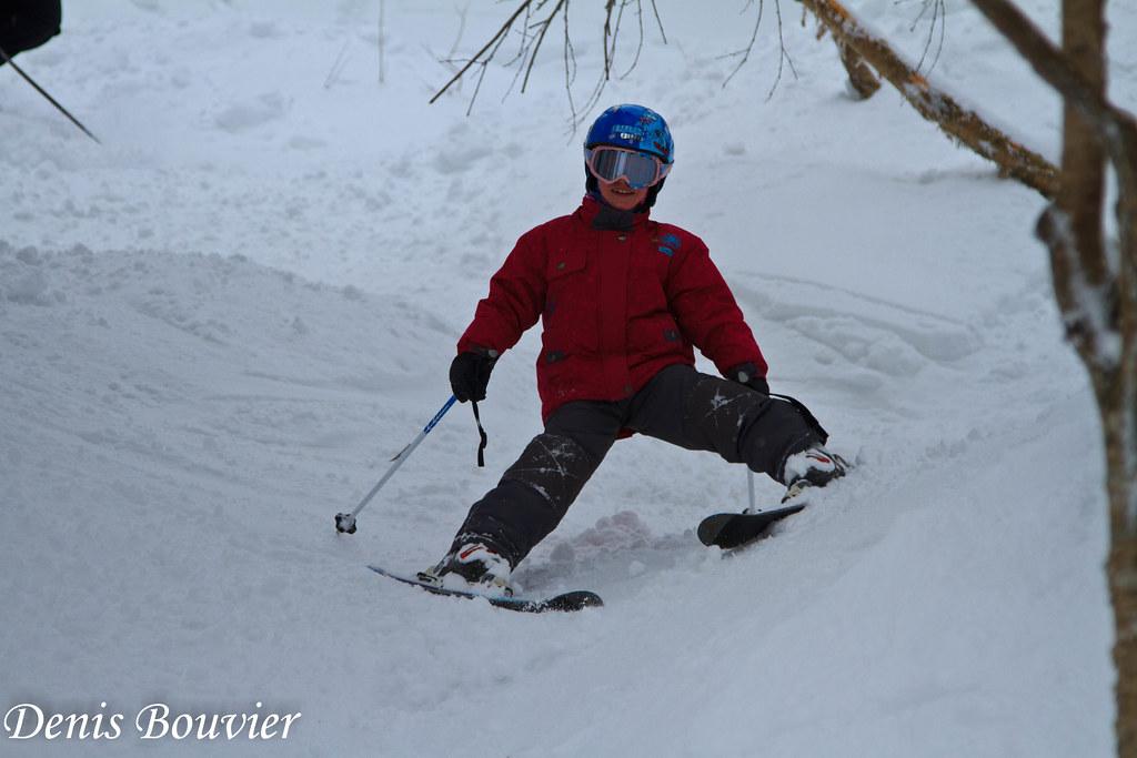 Sourire et neige au Mont SUTTON