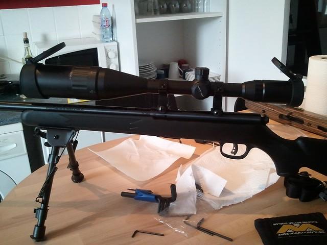 Browning tronbone & Savage MkII FV Custom 6810581380_f156f970fe_z