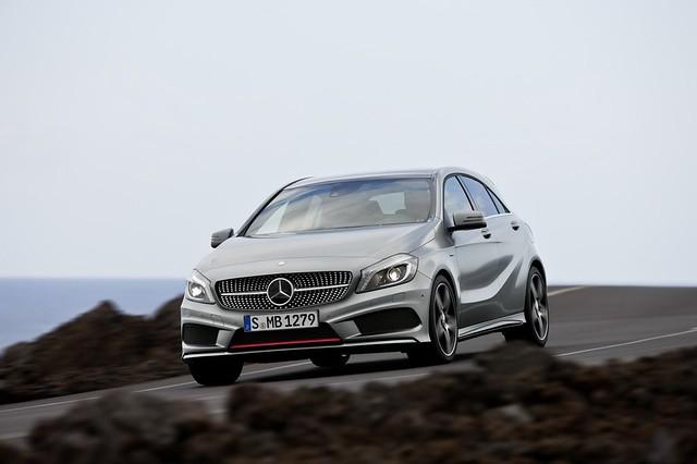 Mercedes-Benz A klasa 2012 službene