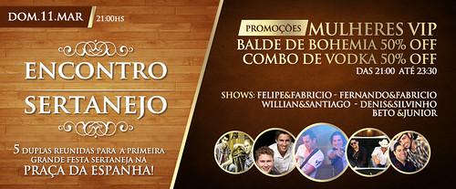 Banner - Encontro Sertanejo by chambe.com.br