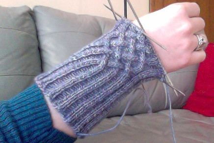 knotty gloves by gradschoolknitter