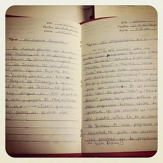 Old Spanish Journal. Remember when journals were handwritten? I do. #ImOld