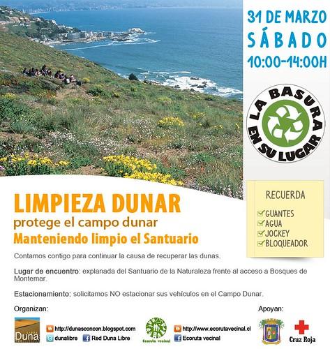 LIMPIEZA DUNAR, NO FALTEN ! by RedDunaLibre