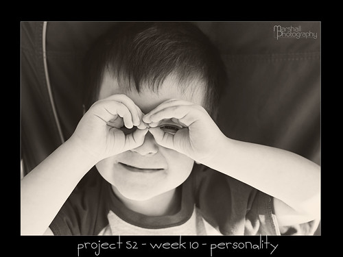 Project 52 - Week 10 - Personality