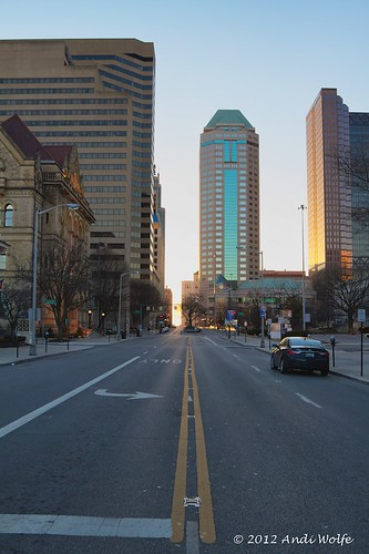 State Street at sunset by andiwolfe