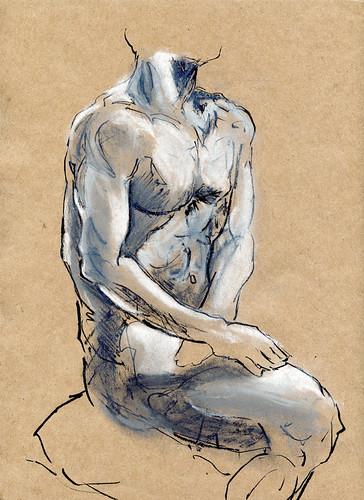 Life Drawing - 03-07-12
