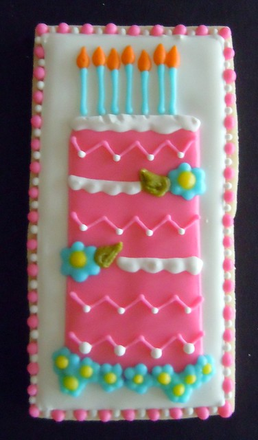 Tall Birthday Cake Special Birthday Tray Done As A