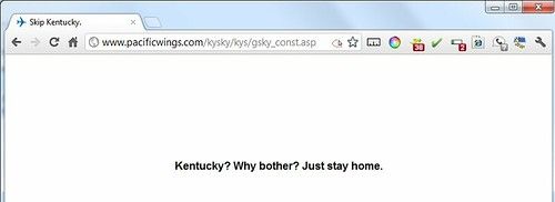 KentuckySkies New Homepage