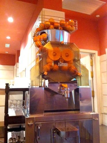 Vitoria | Gran Hotel Lakua | La máquina del zumo