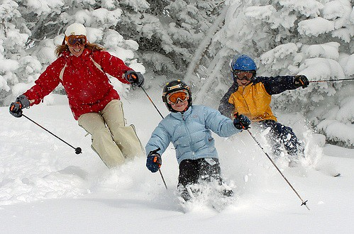 Hit the off-piste pow with the family
