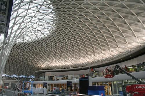 Inside the western concourse