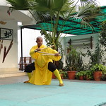 Mon, 12/03/2012 - 16:20 - Shifu Shi Yan Du (Kanishka Sharma) is the Official Buddhist Name (Darma Name) given by Shaolin Temple under the Guidance of Abbot Shi Yongxin, is a Shaolin Warrior from Shaolin Temple, China. He is the First Indian  Shaolin WarriorTo be Trained at Shaolin Temple Under the Guidance of Shifu Shi Heng Jun who introduced him to legendary Grand Master Suxi and his kungfu Brother Shifu Shi Deyang and currently is head of Shaolin India. Under Shifu Shi Heng Jun Guidance Shifu kanishka got trained in Shaolin jiben gong ShibaShi, Shaolin Tai Tzu Chang quan, Shaolin Wu bu Chuan,Shaolin Qi Xing Chua, Shaolin Xiao Hong Chuan, Shaolin Luohan Shi Ba shou, Shaolin Luohan Duanda, Shaolin Luohan chuan, Shaolin Wuxing Bafa (5 animal 8 movement), Shaolin Rumen chuan, Shaolin Kung Chuan, Shaolin Yin Shou Gun, Shaolin 9 Section whip Chain, Shaolin Broadsword (Dao), Shaolin Jian( straight sword),Shaolin Fun Mo Gun, Shaolin XinYi Quan , Shaolin Ba Duan jin and Shaolin yi jin jing Qi Gong. Shifu Kanishka also studied Shaolin San Sa liu Duanda( 36 short fighting combination of Shaolin kungfu) and Shaolin 36 Yin Chin-Na( locking system) In the year 2005 Shifu Shi Hengjun Travelled to France to spread the knowledge of Shaolin Chan Wu. Since then Shifu kanishka became disciple of Legendary Grand Master Shi Suyi (Liang Yiquan) who Deputed his Disciple Shifu Shi Yanfang who trained him in Shaolin Mehiua Chuan, Shaolin Pao Chua, Shaolin Hu chuan( Tiger fist), Shaolin Eagle Fist, Shaolin Tanglang Quan, Shaolin Kan jia chuan, Shaolin Yangjia Shi San Qiang( 13 Spear), Shaolin Moon Spade, Tongbei Chuan, Traditional Combat like Shaolin Tang fang ba, Hubpuba and introduced him to highest level of Shaolin Fighting called Xin Yi Ba. Shifu Shi Yanfang also trained Shifu kanishka intensly in Shaolin Sanshou( Free Fighting) specially in Shao Jiao( wrestling) and Shuai Fa( Takedowns) In the year 2008 Shifu Kanishka got the honor to train with Da Shifu Shi Yanzi ( a famous monk who has spent 15 years in Shaolin Temple and was known as the Iron bull and has achieved the highest level of shaolin skill called Xin Yi Ba.) Under the guidance of Da Shifu Shi Yanzi Shifu Kanishka Studied Xiao hong Quan a version which included Xin Yi Ba move called Pi Tui Xie Xing which is one of the most powerful move for Combat. Once mastered this move alone can counter 1000 movements or kicks and punches. Shifu Kanishka during the year 2006 under the Guidance of Grand master Wang studied the Southern Shaolin 18 Luohan System which was very Secretly Taught at that time and was made famous by lengendary Fighter called Hongxi Guan of Southern Shaolin Temple Shaolin Kung Fu India www.shaolinindia.com