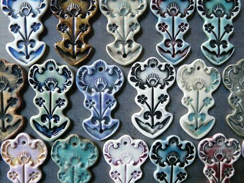 Porcelain Pendants