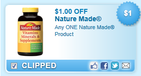 Nature Made Product Coupon