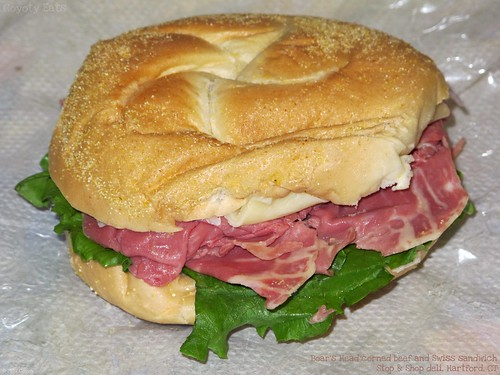 Corned beef and Swiss sandwich by Coyoty