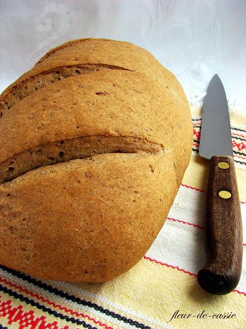 хлеб пшенично-ржаной на опаре 1