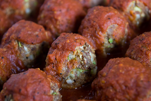 Mexican Meatballs with Smoky Chipotle Sauce from Cinco de Mayo Salsas