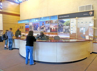 Grand Canyon Nat Park: Visitor Center Exhibit Installation 3221
