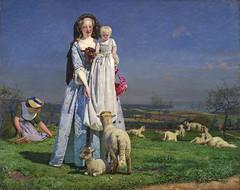 Pretty Baa-Lambs by Ford Maddox Brown, c.1851-9