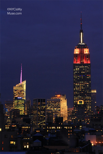 Empire State Building Love-ly in Valentine's Day Red Pink and White