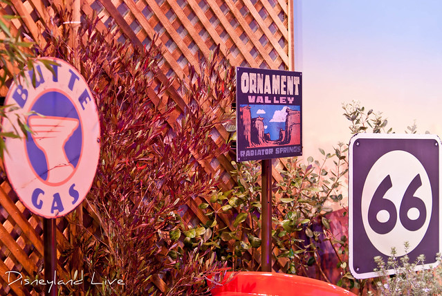 Cars Land / Buena Vista Street AP Merchandise Showcase - Cars Land Signs