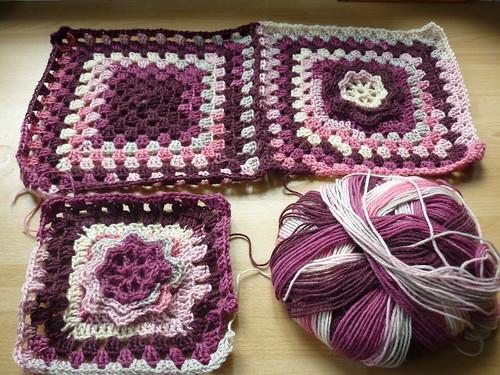 Flowery blanket