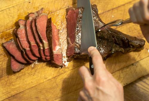 Blow-Torch Steak