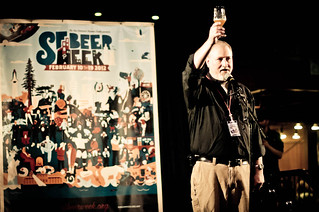 Jay Brooks giving the toast at SF Beer Week Opening Celebration