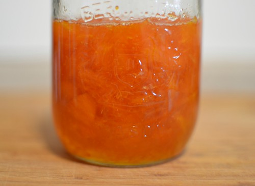 Cara cara orange and lavender jam