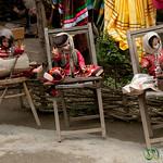Spooky Dolls in Masuleh, Iran
