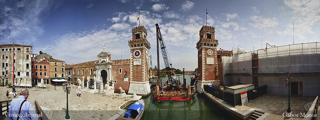 Venice, Arsenal gate