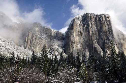04-01-12 A Dusting of Snow at Yosemite by roswellsgirl