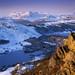Lake District in Winter by Michael Paynton