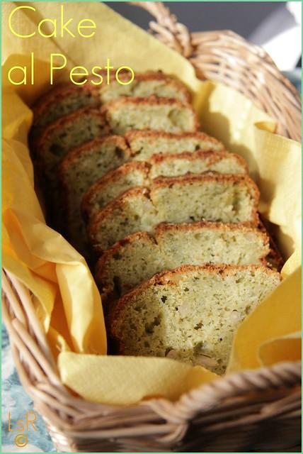 Cake al pesto