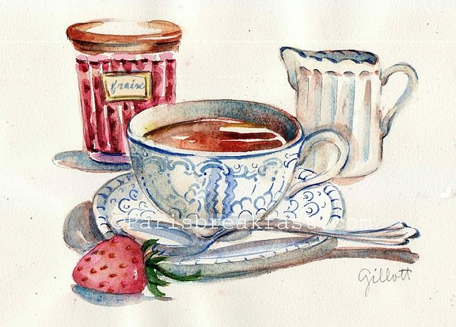 Downton Abbey Strawberry Tea