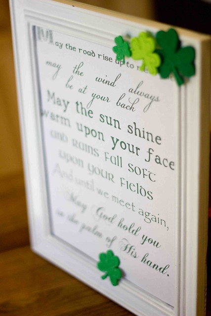 irish blessing printable