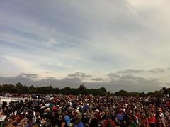 Hagley Park crowd